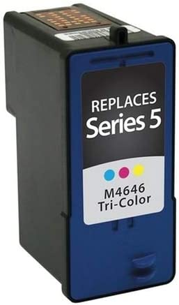 Series 5 SuppliesMAX Compatible Replacement for CIG114962 Color Inkjet Equivalent to Dell M4646
