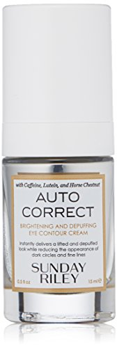 Correct Eye - Sunday Riley Auto Correct Brightening and Depuffing Eye Contour Cream, 0.5 fl. oz.