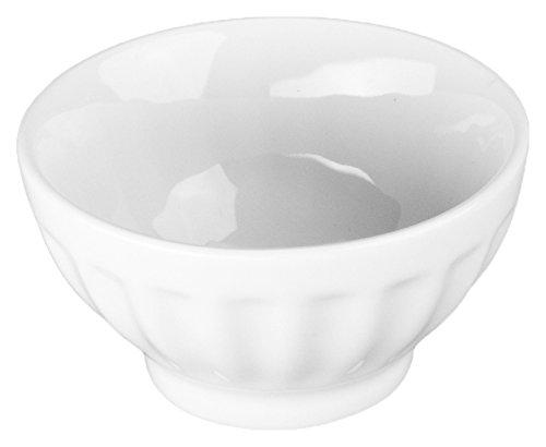 - BIA Cordon Bleu 4.5-Ounce Fluted Bowl, Set of 4, White
