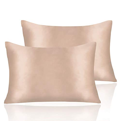 Amazon Com 2 Pieces Satin Pillowcases Set For Hair And