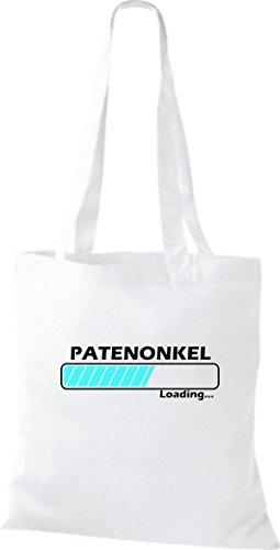 Shirtstown - Bolso de tela de algodón para mujer Blanco - blanco
