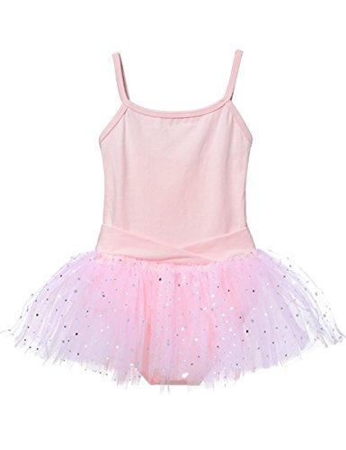[Ballet Tutu Leotard for Toddlers (Tag 12) (2t-4t, Ballet Pink)] (Tutu For Toddler)