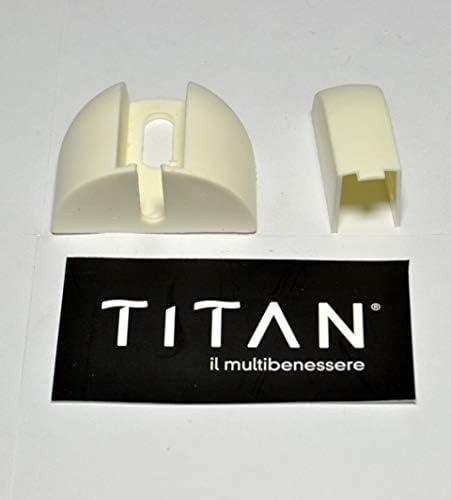 Titan Cobertura Cremallera mampara de Ducha Unidad: Amazon.es: Hogar
