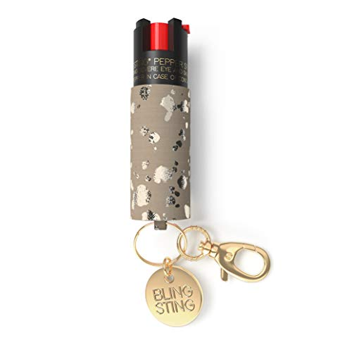 - Pepper Spray Keychain for Women - Fashionable & Powerful, Our 10% OC, No Gel Sprays Long Range and is Specifically Designed for Women, Safe, Accessible, Easy to Use, No Accidents, Refillable