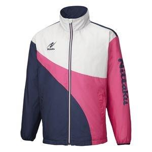 ニッタク(Nittaku) 卓球アパレル LIGHT WARMER SPR SHIRT(ライトウォーマーSPRシャツ)男女兼用 NW2848 ピンク 3S 〈簡易梱包 B07R3CCD43