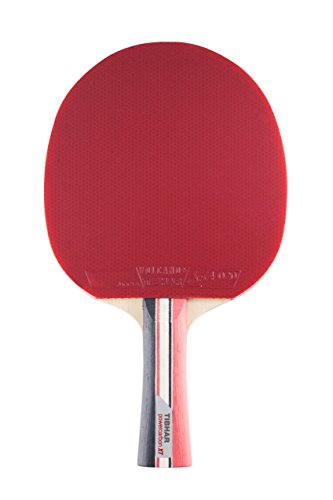 Tibhar Powercarbon XT Table Tennis Bat - Flared - Red