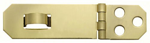 (Stanley Hardware 80-3550 Solid Brass Hasp)