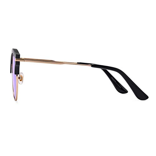 F de polarisées Miroir Big Couleur de Box Des de lunettes Retro Sport de Femme soleil E Conduite Soleil Lunettes Fashion Couple FRP8q5