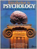 Introduction to Psychology: A Natural Science Perspective