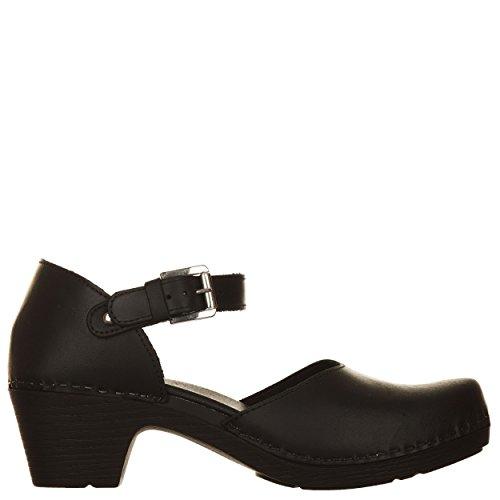 VialeScarpe Sas-7733vtne_38 - Sandalias de vestir para mujer negro negro 38 negro