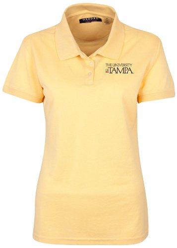 (NCAA University of Tampa Women's Ladies' Classic Pique Polo, Citrus, XX-Large)