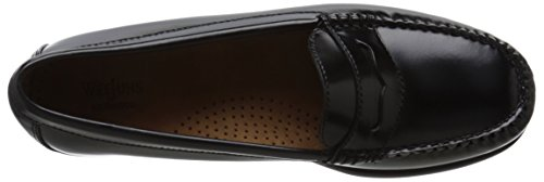 Basse Gh & Co. Womens Wayfarer Penny Loafer Noir