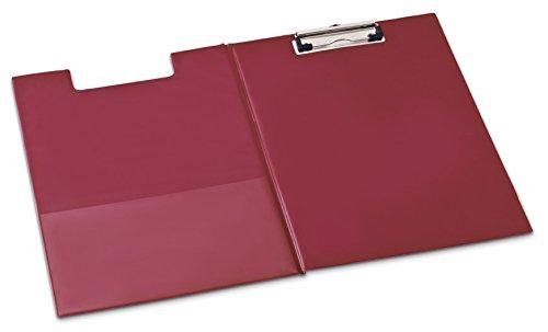 richiudibile Portablocco formato A4morsetto a clip Board Rosso Bordeaux PVC Stainless Mechanism MAS® 132400410403