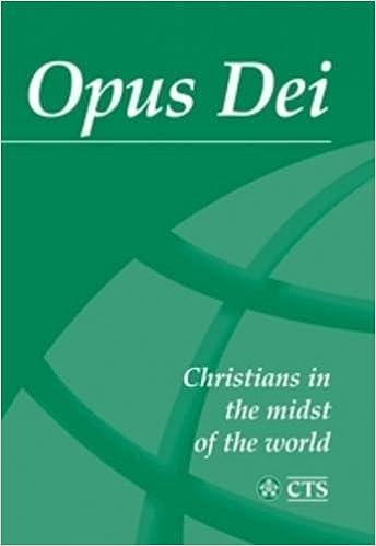 Opus Dei Amazon Peter E Bristow 9781860821288 Books