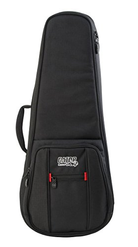 Gator Cases Pro Go Series Deluxe Gig Bag for Tenor Ukuleles or A/F Style Mandolin (G-PG-UKE-TEN) ()
