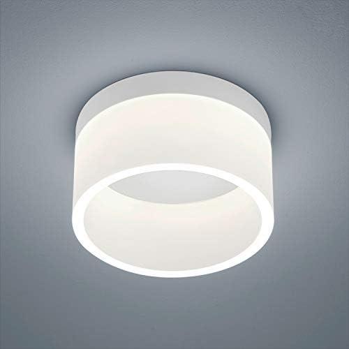 Helestra LIV 17W LED plafondlamp met acryl diffuser wit mat200 mm plafondpot rond IP30 3000K dimbaar