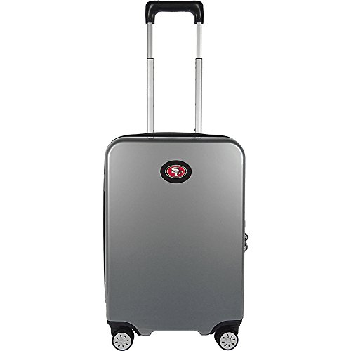 Denco NFL San Francisco 49ers Premium Hardcase Carry-on Luggage Spinner by Denco