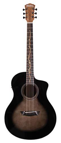 Washburn 6 String Acoustic-Electric Guitar, Right (BTS9VCECH-D)