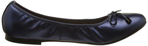 Jb Martin Women's Oreane Closed Toe Ballet Flats Blue (Chevre Brazil Ocean Ocean) FwH2Q3S