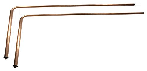 Ultra Duty 3/16th Thick Solid Copper Dowsing Rods with