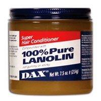Dax Super Lanolin Hair Conditioner, 7.5 Ounce by DAX (Dax Lanolin Super)