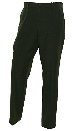Greg Norman for Tasso Elba Mens Houndstooth-Plaid Classic Fit Pants Brown 34/30 save more