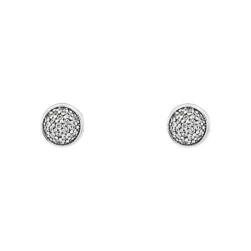 Pandora Dazzling Droplets Silver Stud Earrings 290726CZ