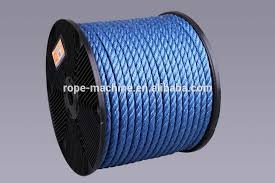 EVERSTRONG Aqua Steel Film Twisted Rope in 100 Ft Spool x Various Sizes, 3/16'', 1/4'', 5/16'',3/8'',1/2'', 5/8'',3/4'',7/8'',1'',1-1/8'',x1-1/4'',1-1/2'' (1/2'')