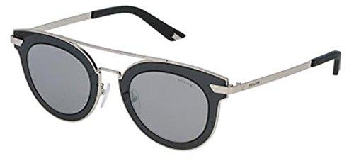 Sunglasses Police HALO 2 SPL349 579X Women Silver Cat-eye Silver - Usa Police Sunglasses
