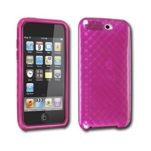 DLO DLA67104D Soft Shell Flexible Case for iPod Touch 3rd Gen- Pink by DLO