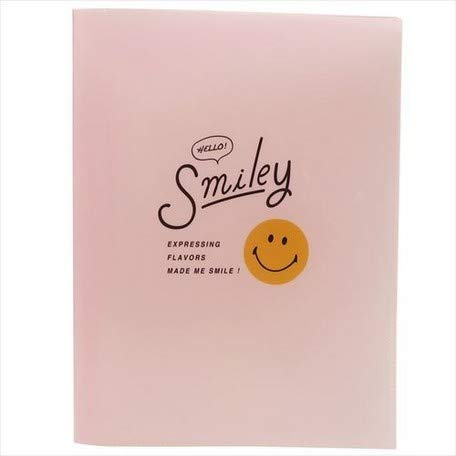 (Smiley face 10 Pocket A4 Clear File/Hello Smiley FACE/Smiley face 10 Pocket A4 Clear File)