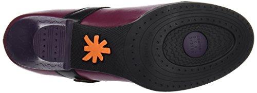 Art Harlem, Zapatos de Tacón con Punta Cerrada para Mujer Morado (Star Cerise-Black 925)