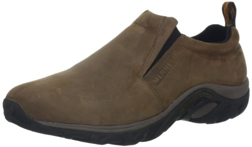 Merrell Men's Jungle Moc Nubuck Slip-On Shoe,Brown Nubuck,8