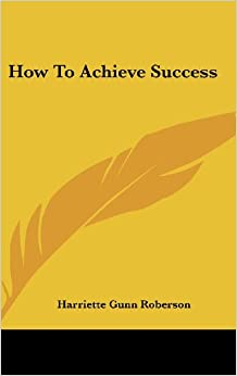 Book How to Achieve Success