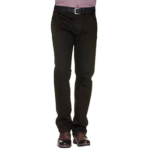 EUREX Herren Jeans KEN Regular Fit Black Comfort Stretch, Größe:58;Farbe:black