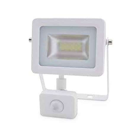 Proyector LED con Sensor 20W 6000K IP65 Blanco GSC 0704743 ...