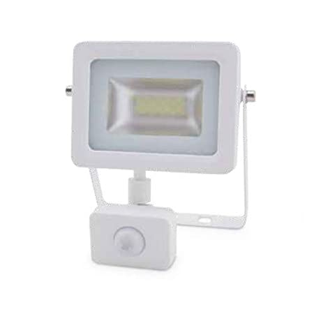 Proyector LED con Sensor 10W 6000K IP65 Blanco GSC 0704742: Amazon ...