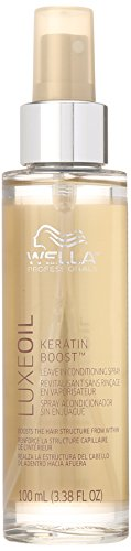 (Wella Luxeoil Keratin Boost Leave In Conditioning Spray, 3.38 Ounce)
