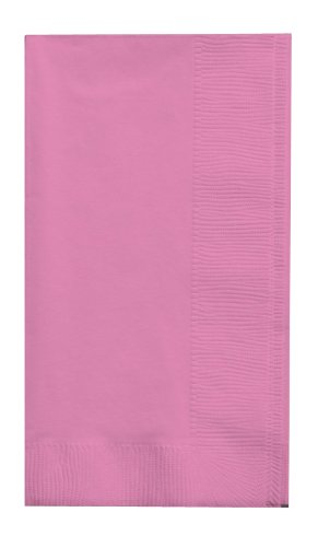 Creative Converting 50-Count Touch of Color Paper Dinner Napkins, Candy Pink (Creative Converting Candy)
