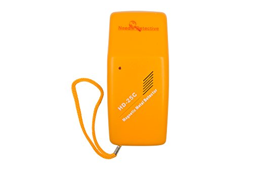 Needle Detective Handheld Needle Detector - Magnetic Needle, Staple, and Small Metal Object Detector, Mixed Metal Detector by Needle Detective