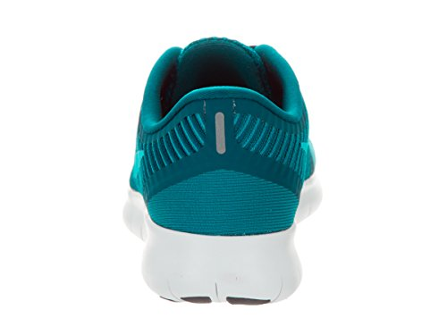 Nike Womens Free Rn Cmtr Green Abyss / Bl Lagon / Glcr Bl Scarpa Da Corsa 10 Donne Us