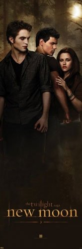 The Twilight Saga: New Moon - Mini Door Movie Poster (Love Triangle) (Size: 12