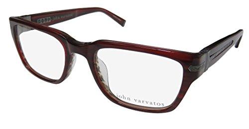93c63e878d John Varvatos V350uf Mens Designer Full-rim Spring Hinges Adult Size  Fabulous Hip Eyeglasses