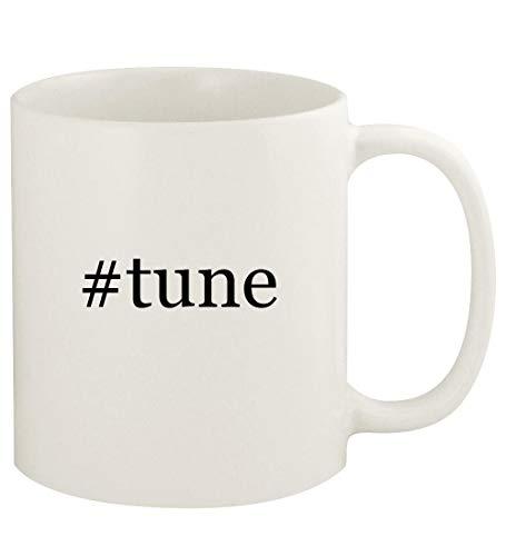 #tune - 11oz Hashtag Ceramic White Coffee Mug Cup