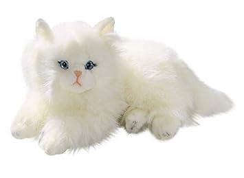 Carl Dick Peluche - Gato persa blanco (felpa, 30cm) [Juguete] 3199: Amazon.es: Juguetes y juegos