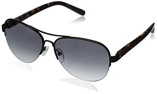 Bobbi Brown Women's The Angelina Aviator Sunglasses, Black & Gray Gradient, 57 mm