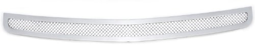 (TRex Grilles 55474 Upper Class Small Mesh Stainless Polished Finish Bumper Grille Overlay for Dodge Charger)