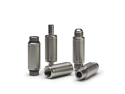 3000 psi Inline Check Valve 3395RB-J4M Strataflo 1//4 Male 04 JIC 37/° Stainless Steel Spring-Loaded 1 psi Cracking Pressure