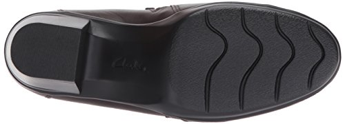 Clarks Womens Emslie Warren Slip-on Mocassino Marrone Scuro