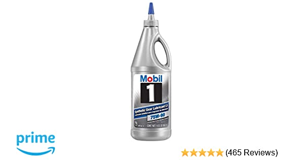 Amsoil Severe Gear 75w 90 Amazon Com >> Mobil 1 104361 Unit 1 Quart 32 Ounces 75w 90 Synthetic Gear Lube